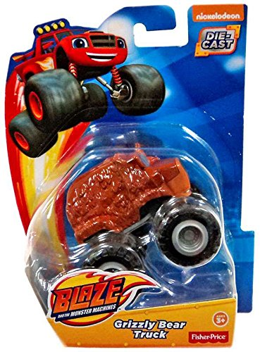 Fisher-Price Nickelodeon Blaze & the Monster Machines, Grizzly Bear