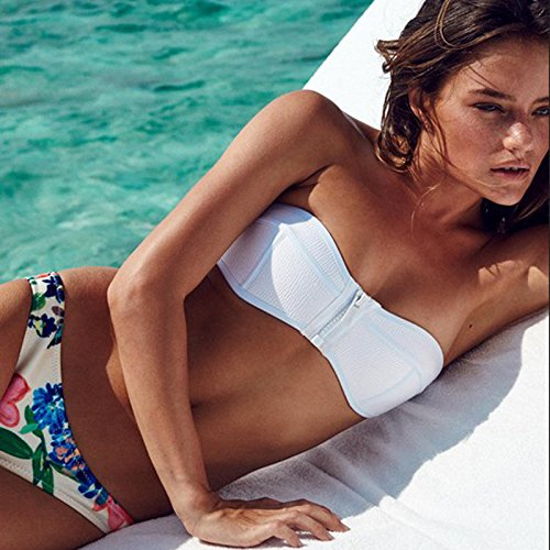RF Bikini Im westlichen Stil 3. Ecke Flaches Badeanzug Weiblich