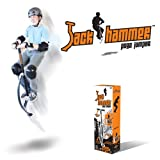 Jumparoo JACK HAMMER Extreme Pogo Jumper by Air Kicks, LARGE, 154-176 Lbs. (70-80 Kgs.)