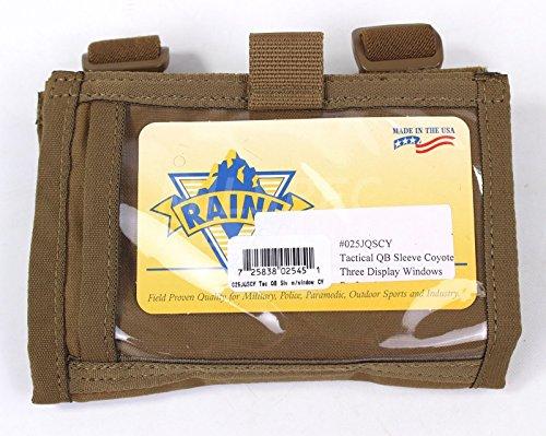 Raine Inc Shooters Armband Tactical Sleeve USA Made (Coyote Brown)