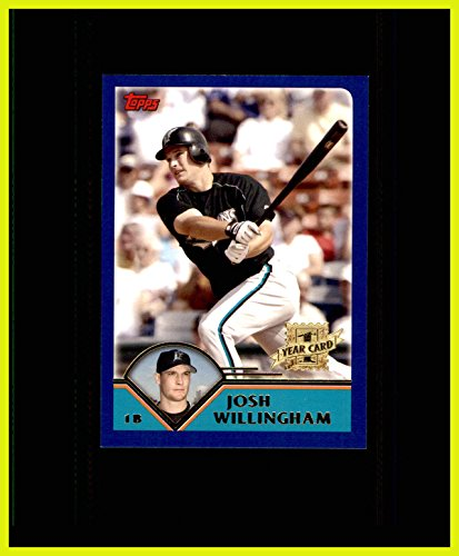 2003 Topps Traded #T222 Josh Willingham First Year RC ROOKIE FLORIDA MARLINS