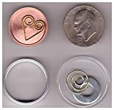 Hollow Coin - used to test Internal Coin Scanners which are used to detect tungsten concealed inside gold.