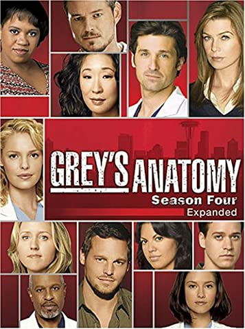 Grey's Anatomy: The Complete Fourth Season (Greys Anatomy Dvd Seasons)