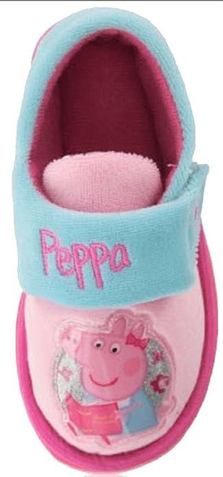 Peppa Pig - Zapatillas de Estar por casa para niña: Amazon.es: Zapatos y complementos