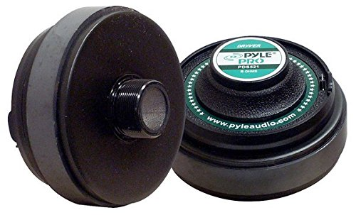 Pyle-Pro PDS521 2.02-Inch Titanium Horn Driver 8-Ohm 13/8-Inchx18 TPI Sound Around