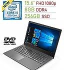 "Lenovo Premium 15.6"" FHD (1920x1080) Display Laptop PC, Intel i5-7200U 2.5Ghz Processor, 8GB"