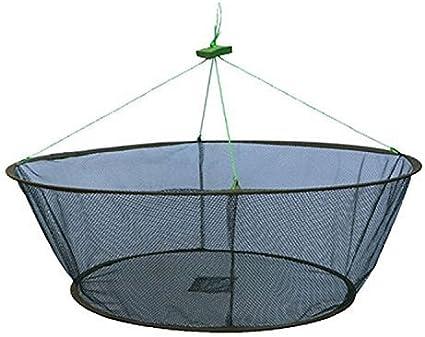 New Folded Fishing Net Fish Minnow Crayfish Crab Baits Cast Mesh Trap Automatic