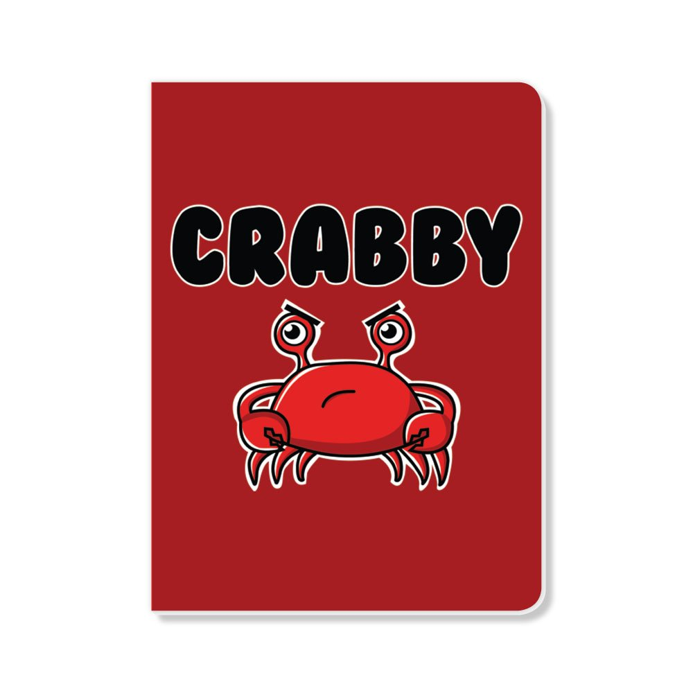ECOeverywhere Crabby Sketchbook, 160 Pages, 5.625 x 7.625 Inches (sk12684)