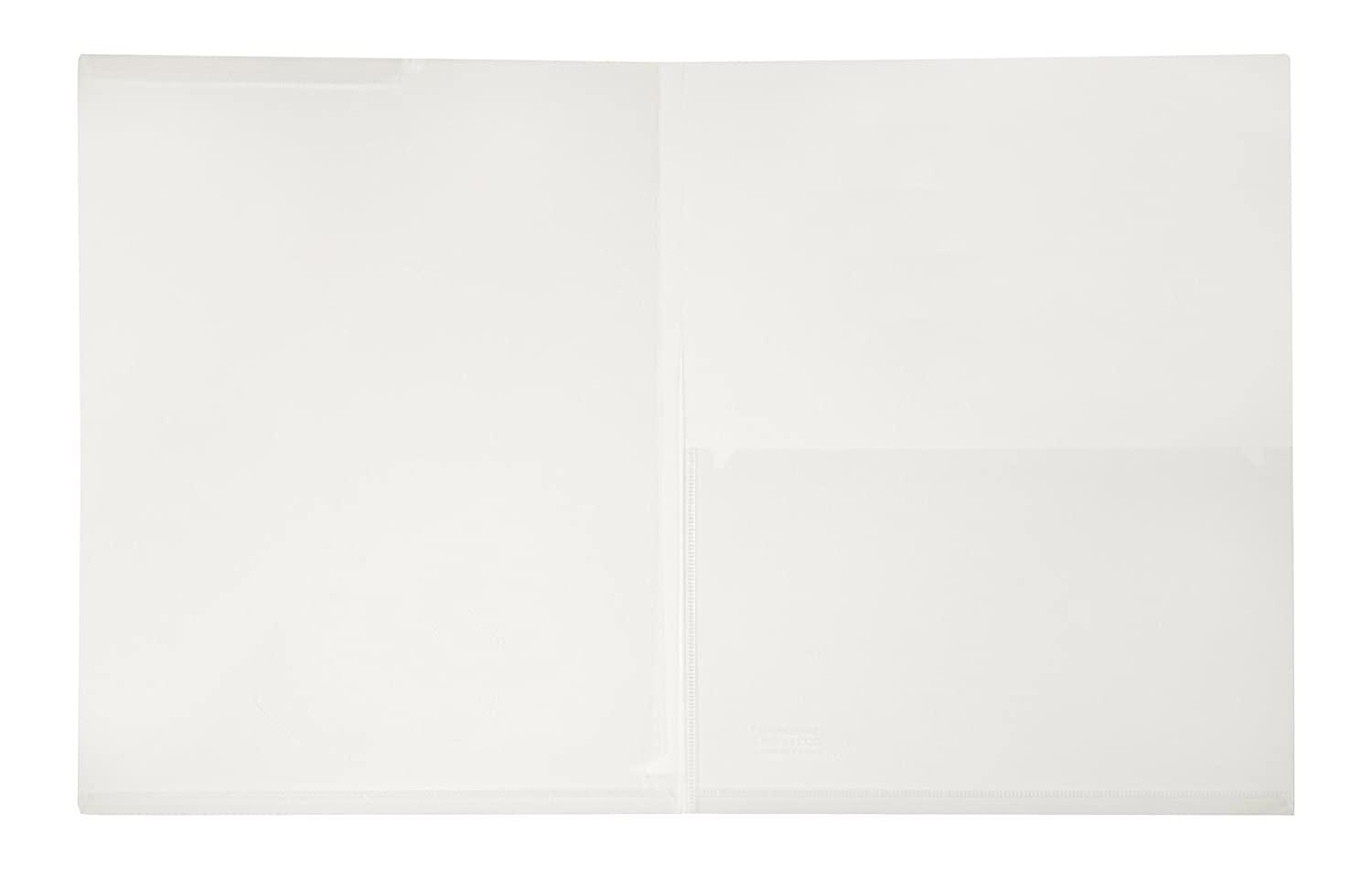 Lion Clear Plastic Presentation Folders, 2 EA/Pack, 1-Pack (52090-CR) Lion Office Products