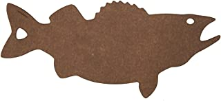 product image for Epicurean Cutting Surfaces Novelty Series Cutting Board, Walleye, Nutmeg