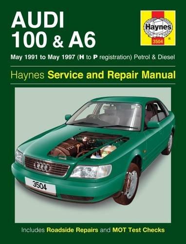 Audi 100 Manual - Audi 100 & A6 Owner's Workshop Manual