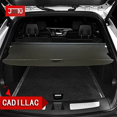 Retractable Rear Trunk Cargo Cover/Trunk Organizers/Trunk Shielding Shade for Cadillac XT5 SRX Luggage&Baggage Privacy/Security/Safety Protecter by Juntu (Cadillac (Srx Cargo Cover)
