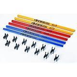 Kwik Goal 16B3101 30-Inch Coaching Stick Hurdles
