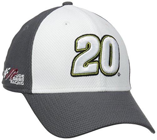 NASCAR Joe Gibbs Racing Matt Kenseth 15 Alternate Driver's 39Thirty Cap, Gray, Small/Medium