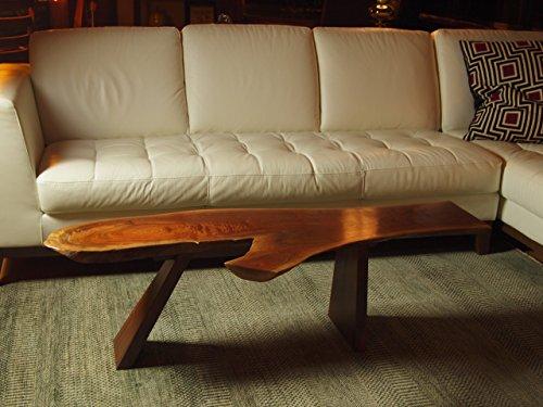 Live edge black walnut coffee table buy online in uae for Coffee tables uae