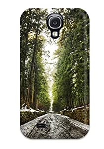 Durable Old Forest After Snow Melt Digital Back Case/cover For Galaxy S4