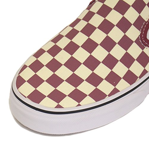 Slip adulte Baskets Rose checkerboard Dry mode on Vans white mixte Classic U 6fxqn0EA
