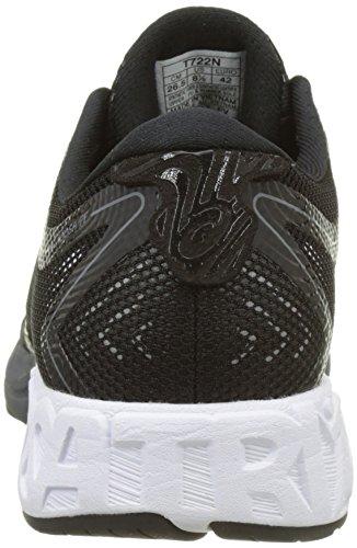 Asics Noosa FF, Zapatillas de Running Para Hombre, Negro (Black/White/Carbon), 50.5 EU