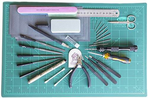 MegaNoire Ultimate Modeler Tools Kit Set for Gundam Scale Model Kit (Mk-III)