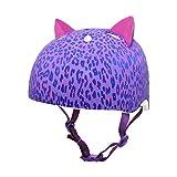 Krash-2015-Girls-Leopard-Kitty-Youth-BikeSkate-Helmet