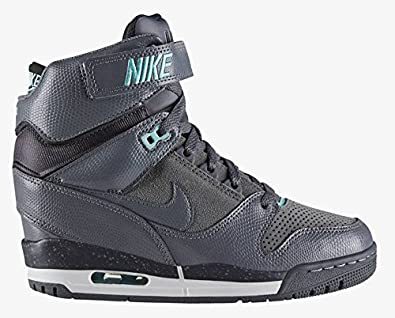 e3fc901af808 Nike WMNS AIR Revolution Sky HI 599410-011 Baskets Femme 599410-011-36-5.5  Noir  Amazon.co.uk  Shoes   Bags