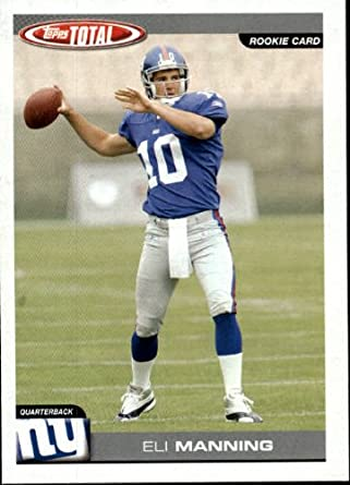 Amazoncom 2004 Topps Total Football Rookie Card 350 Eli