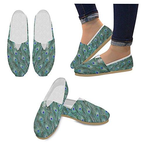 Interestprint Femmes Mocassins Classique Casual Toile Glisser Sur La Mode Chaussures Sneakers Appartements Multi 20
