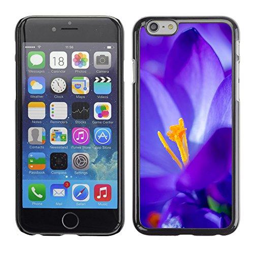 "Premio Sottile Slim Cassa Custodia Case Cover Shell // F00027931 Ultrablue fleur // Apple iPhone 6 6S 6G 4.7"""