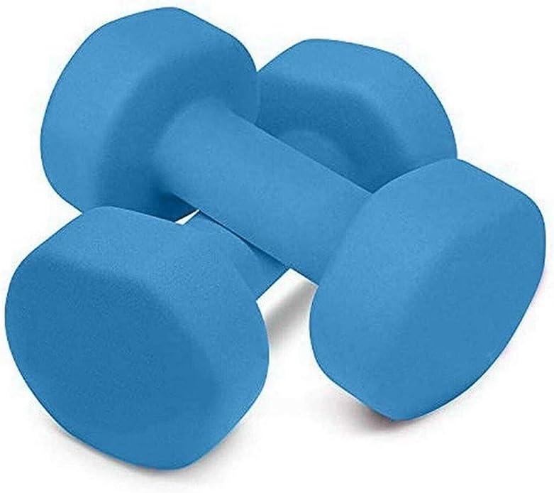 LCY Pesos Hexagonal con Mancuernas de Fitness-1 kg 5 kg Inicio Ejercicio de la Gimnasia Equipo de la Aptitud Delgada Armas Inicio Pesas for Mujeres y Hombres
