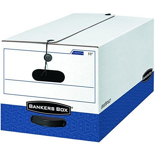 Liberty Storage Box Letter (Bankers Box Liberty Heavy-Duty Storage Boxes, Letter, 12 Pack (00011) by Bankers Box)