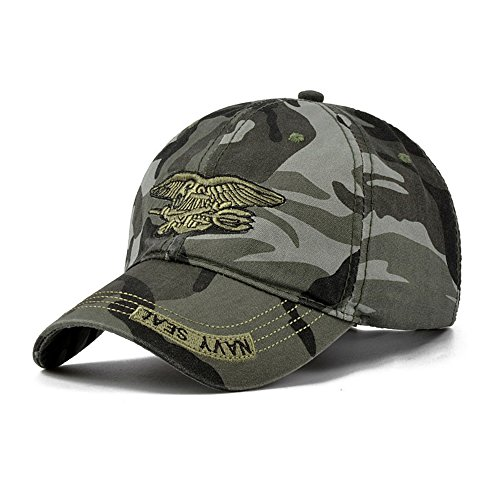 Camo Baseball Cap Men Camouflage Navy Seal Tactical Cap Hats Bone Army Snapback for Adult (Mandrake Halloween Costume)