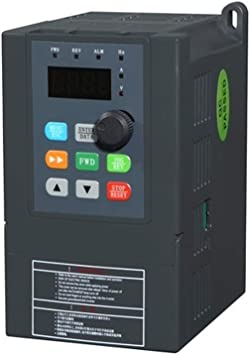 220V 1HP 0.75KW Single Phase To 3//Three Phase Output Frequency Converter VFD VSD