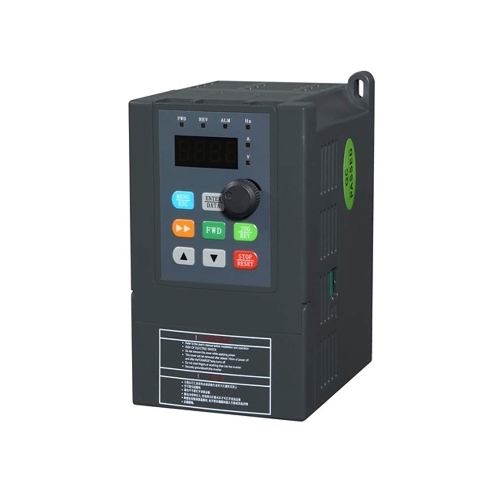 ATO Single Phase 1hp 0.75kW VFD, 1 Phase 220v Input and 1 Phase/3 Phase 220v/240v Output by ATO