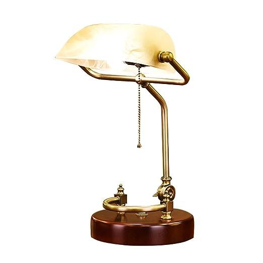 de de mesa americana retro LHL Lámpara Lámparas escritorio R3q4jL5A