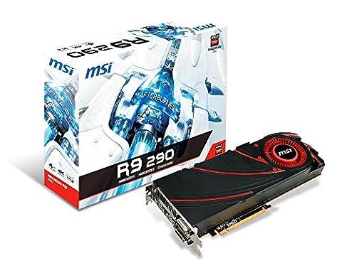 MSI AMD Radeon R9 290 4GB GDDR5 2DVI/HDMI/DisplayPort PCI-Express Video Card (Radeon 290)