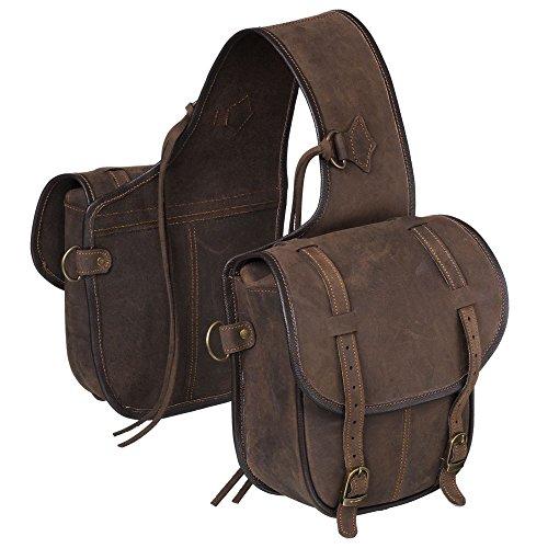Tough 1 Soft LTH T1 Saddle Bag (Equine Western Saddle Bags)