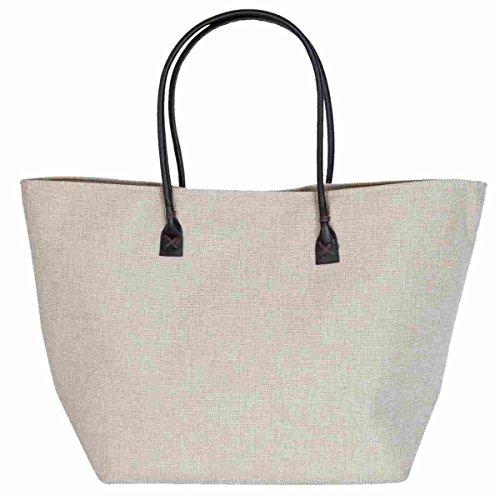 Clayre & Eef BAG278 spiaggia Shopper bag shopping bag ca, 38 x 17 x 35 cm
