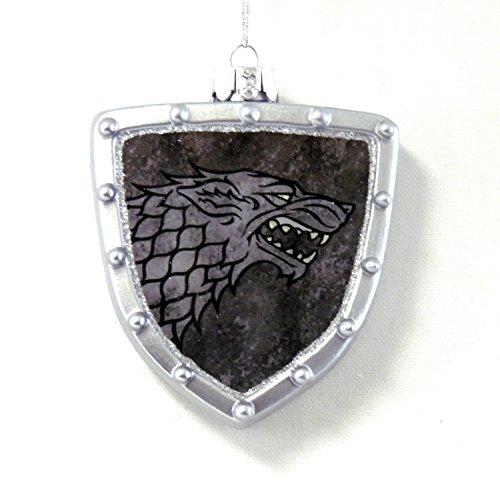 Game of Thrones Stark Shield Ornament