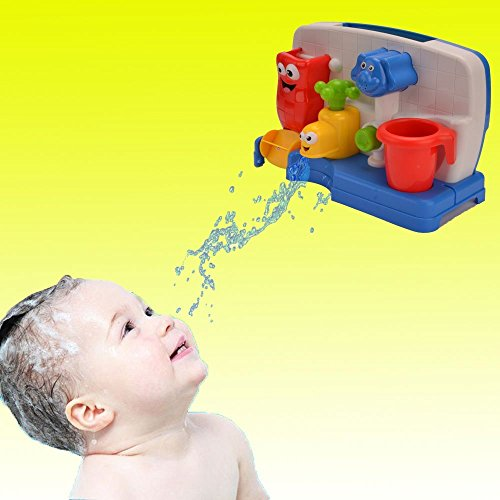 Funny Bath Toys for Boys and Girls with Water Sprinkler System -Early Education Interactive Bathroom Toys by Cherry (Image #7)