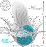 Professional Ingrown Hair Brush by WIZKER, Curved Exfoliating Body Brush Eliminates Razor Bumps