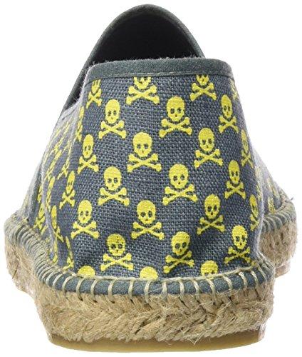 Scalpers Skull Espadrille 04 - Alpargatas, Hombre, Indigo, 44: Amazon.es: Zapatos y complementos