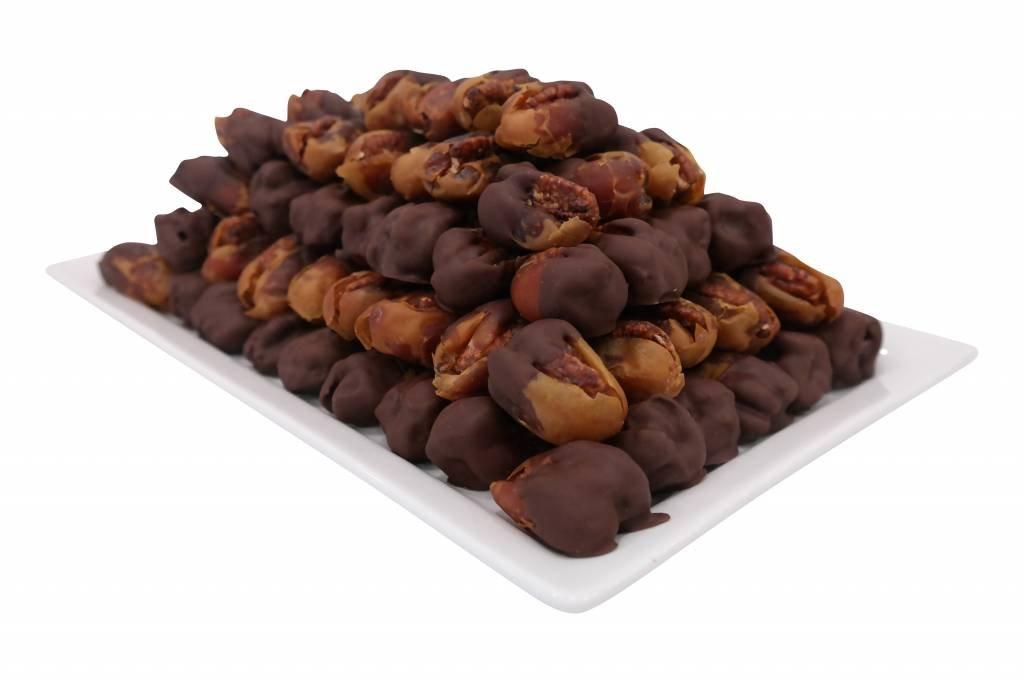 Bateel USA Kholas Dates Dark Chocolate Caramelized Pecan