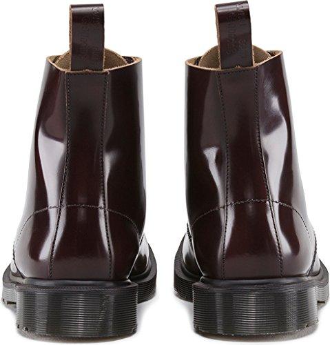 Dr. Martens Arthur Ronde Leren Combat Boots Merlot
