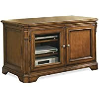 Hooker Furniture 281-55-470 Brookhaven 44 TV Console, Medium Wood
