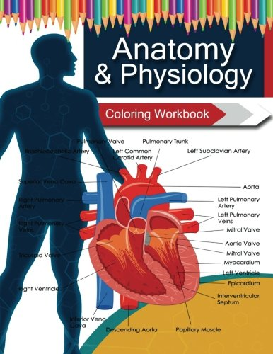 Anatomy & Physiology Coloring WorkBook Books: Dr.Veronica W ...