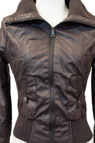 Amazon.com: CI Sono Juniors polipiel Chaquetas (4), S: Clothing