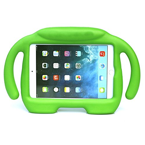 iPad Mini Case, iPad Mini 1 / 2 / 3 / 4 Case, Ubearkk Kids Shock Proof Freestanding Light Weight Super Protective Handle Stand Cover Case for Apple iPad Mini / Mini 2 / Mini 3 / Mini 4 (Gables One Light)
