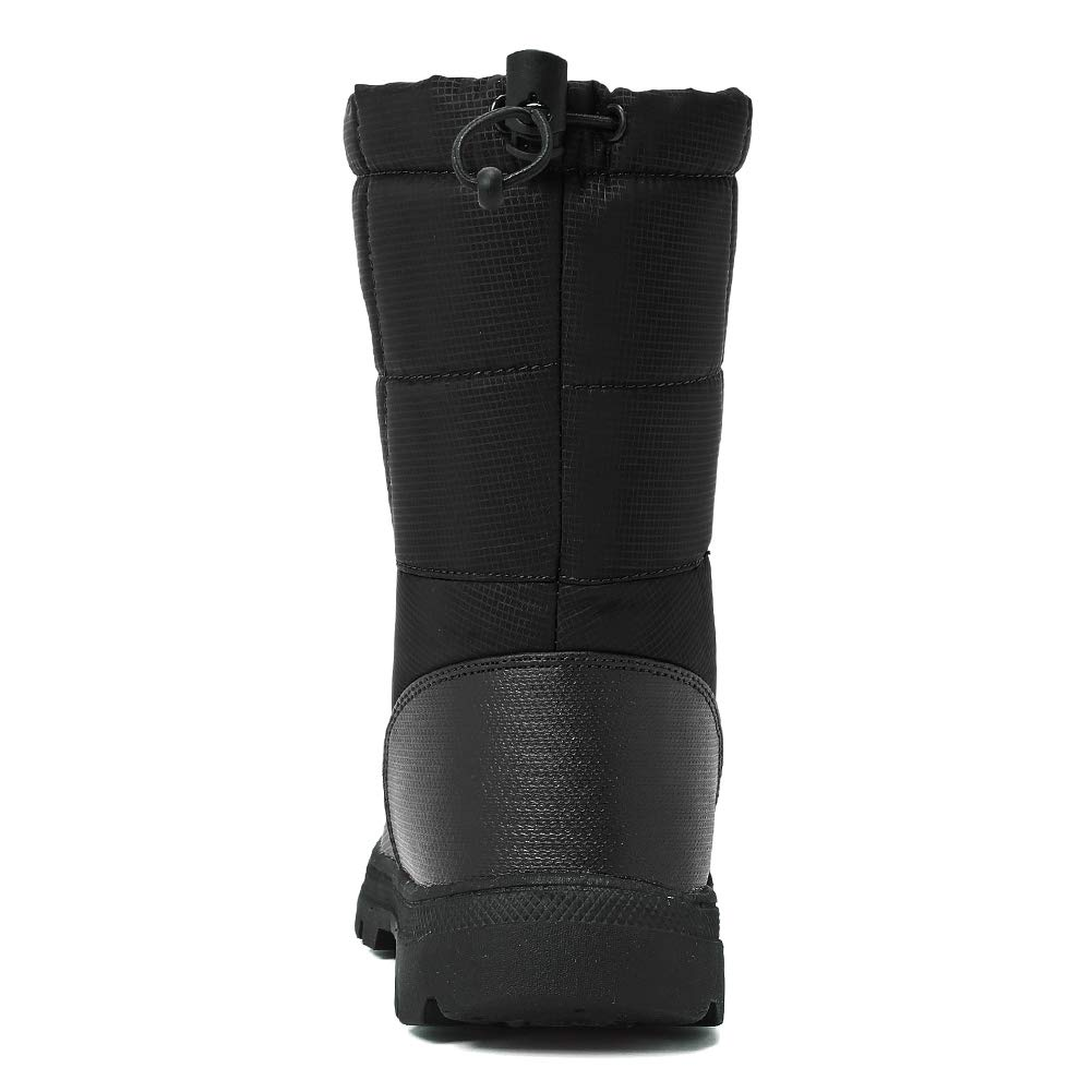EQUICK Drawstring Damens and Men Waterproof Snow Boot Drawstring EQUICK Cold Weather 2a82df