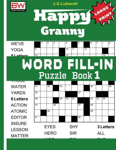 Happy Granny WORD FILL Puzzle product image