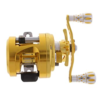 NON Sharplace Carrete de Pesca Trolling Fishing Reel Barco ...